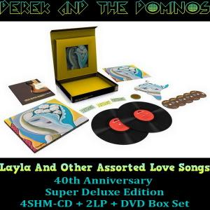 Derek & The Dominos - Layla And Other Assorted Love Songs (1970) [4CD, DVD, 2LP & Blu-ray]