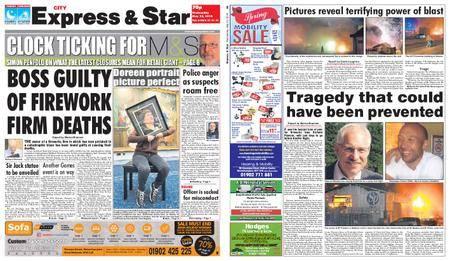 Express and Star City Edition – May 23, 2018