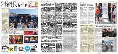 Gibraltar Chronicle – 22 September 2018