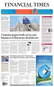 Financial Times UK – 08 October 2019