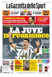 La Gazzetta dello Sport Sicilia – 29 ottobre 2020
