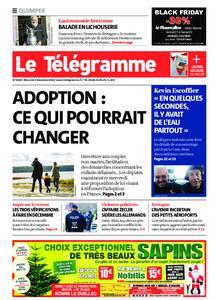 Le Télégramme Quimper – 02 décembre 2020