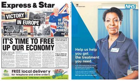 Express and Star City Edition – May 08, 2020