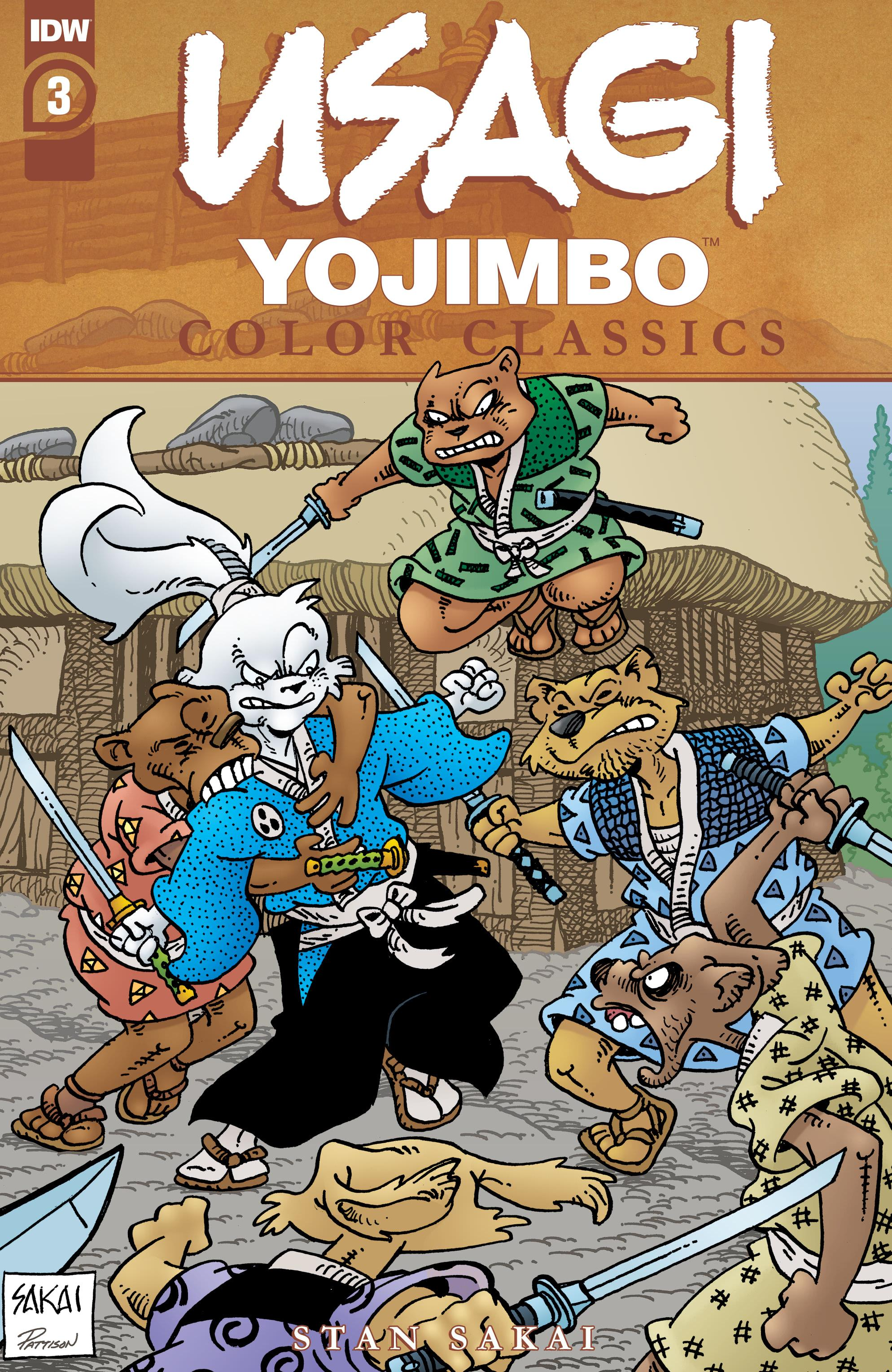 Usagi Yojimbo Color Classics 003 2020 digital Son of Ultron
