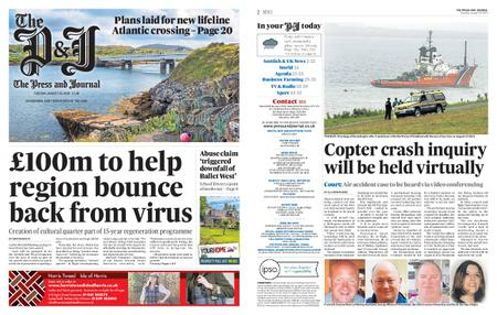 The Press and Journal Moray – August 25, 2020