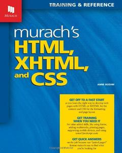 Murach's HTML, XHTML, and CSS