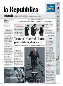 la Repubblica - 30 Novembre 2018