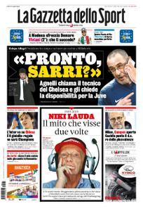 La Gazzetta dello Sport Sicilia – 22 maggio 2019