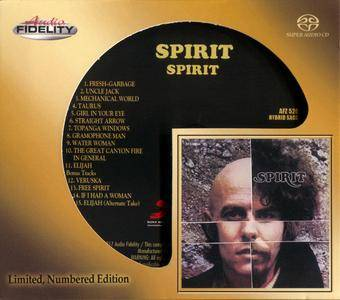 Spirit - Spirit (1968) [Audio Fidelity, Remastered 2017]
