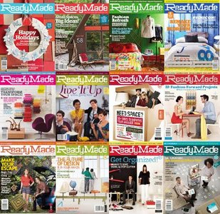 ReadyMade Magazine 2008-2009 (All Issues)