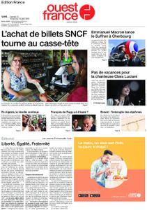 Ouest-France Édition France – 13 juillet 2019