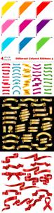 Vectors - Different Colored Ribbons 4