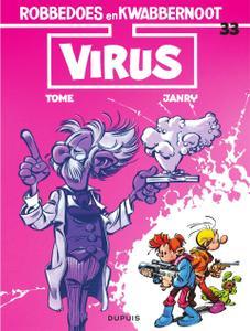"""Strip - """"Robbedoes En Kwabbernoot - 33 - Virus cbr"""