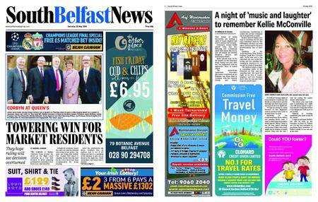 South Belfast News – May 25, 2018