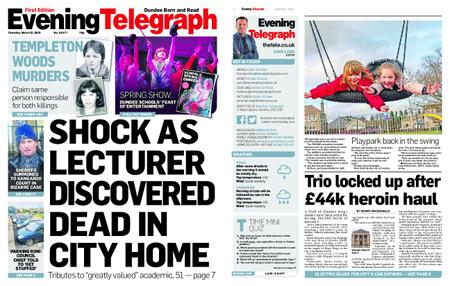 Evening Telegraph First Edition – March 21, 2019