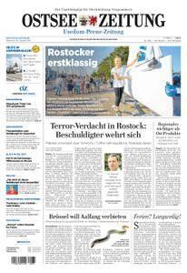 Ostsee Zeitung Wolgast - 30. August 2017