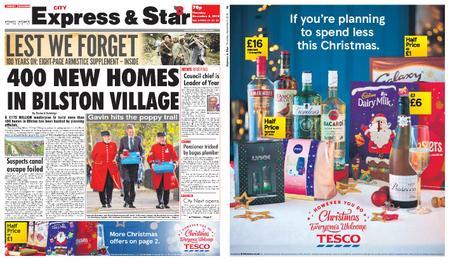 Express and Star City Edition – November 08, 2018
