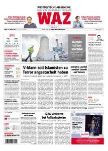 WAZ Westdeutsche Allgemeine Zeitung Oberhausen-Sterkrade - 20. Oktober 2017