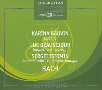 Karina Gauvin, Luc Beausejour, Sergei Istomin - Little Notebook for Anna-Magdalena Bach (2008)