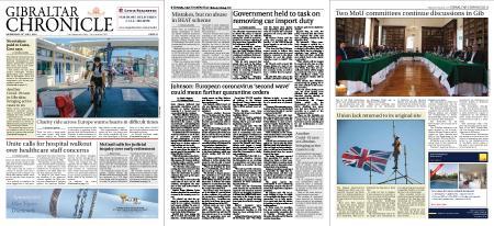 Gibraltar Chronicle – 29 July 2020