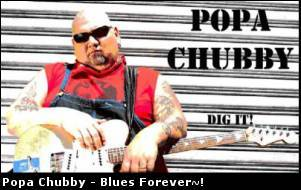 Popa Chubby - 4 albums (Lossless)