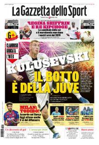 La Gazzetta dello Sport Roma – 31 dicembre 2019