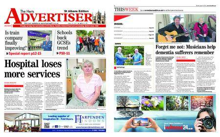 The Herts Advertiser – August 31, 2017