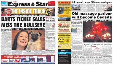 Express and Star City Edition – November 09, 2018