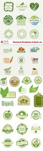 Vectors - Natural Products Labels 16
