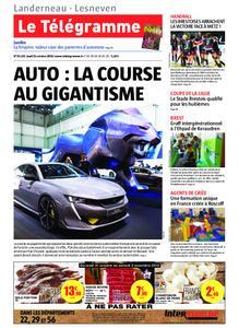 Le Télégramme Landerneau - Lesneven – 31 octobre 2019
