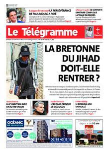 Le Télégramme Brest – 10 avril 2021