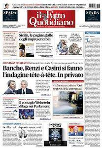 Il Fatto Quotidiano - 5 Novembre 2017