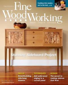 Fine Woodworking - September-October 2019