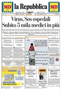la Repubblica - 7 Marzo 2020