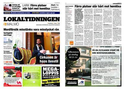 Lokaltidningen Malmö Villa – 23 mars 2019