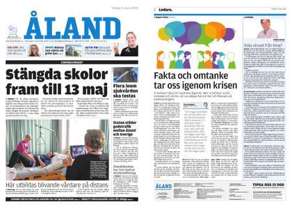 Ålandstidningen – 31 mars 2020