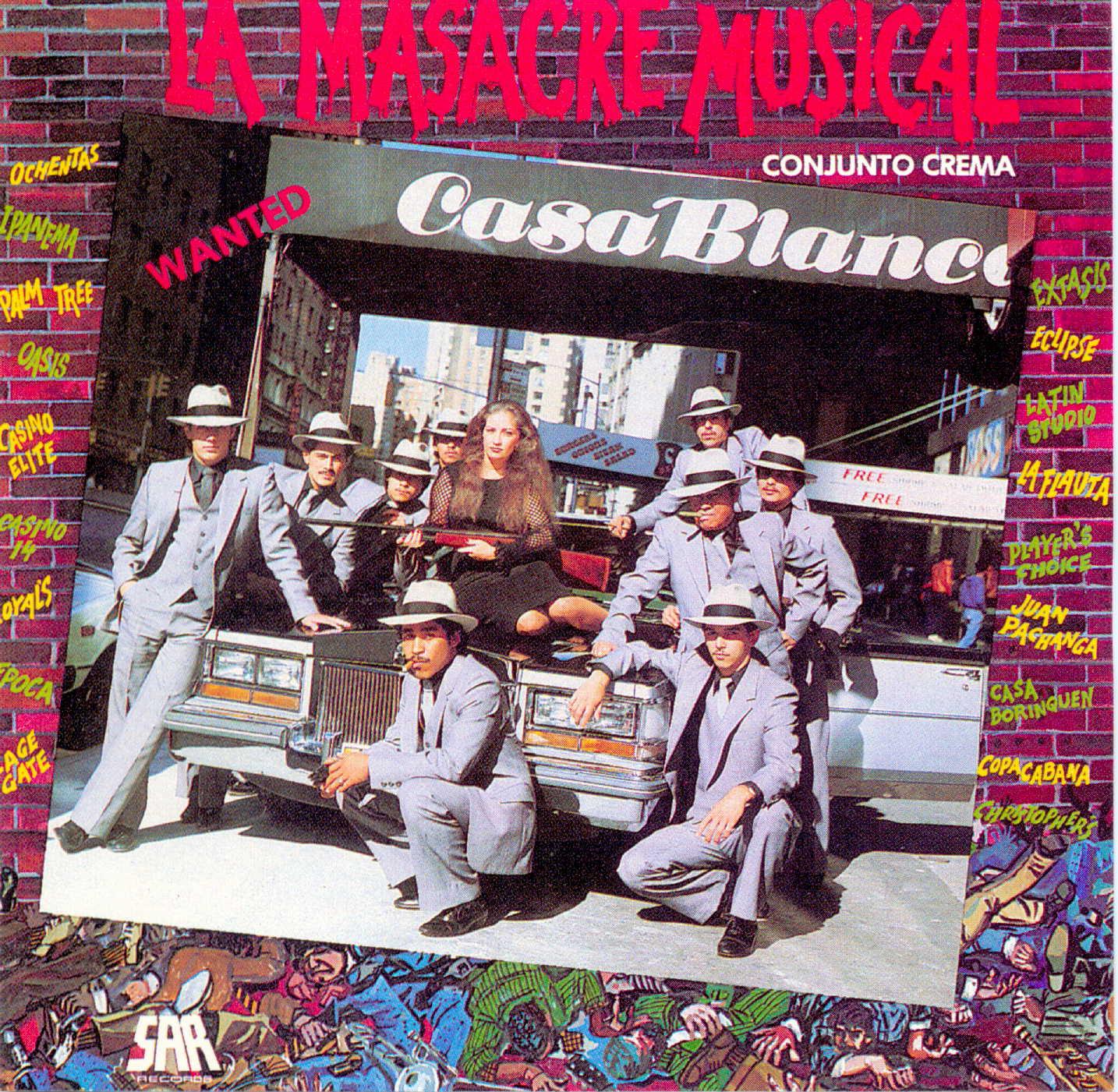 Conjunto Crema - La Masacre Musical  (1994)