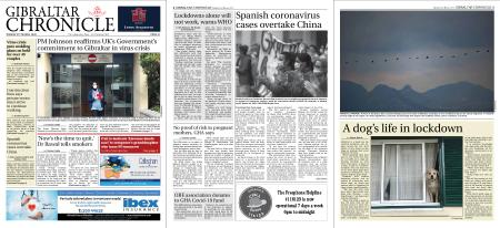 Gibraltar Chronicle – 31 March 2020