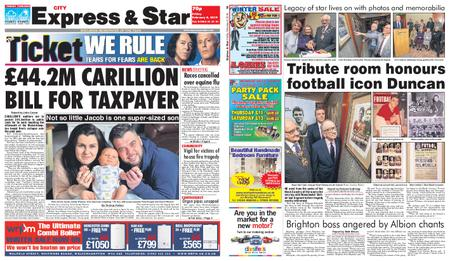 Express and Star City Edition – February 08, 2019