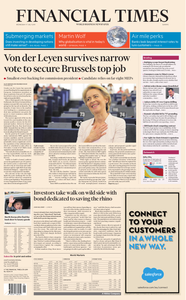 Financial Times Europe – 17 July 2019