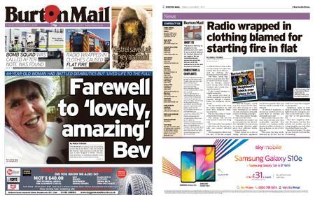 Burton Mail – November 01, 2019