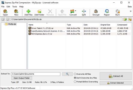 NCH Express Zip 6.25 Beta