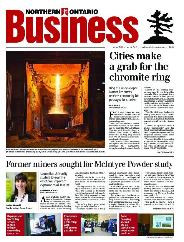 Northern Ontario Business – March 2018