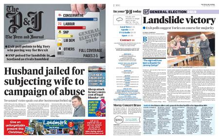 The Press and Journal Moray – December 13, 2019