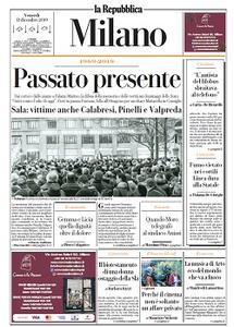 la Repubblica Milano - 13 Dicembre 2019