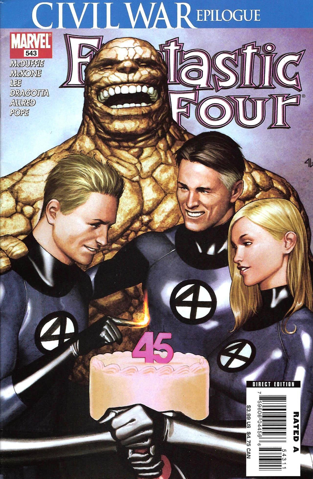 Fantastic Four 543