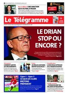 Le Télégramme Ouest Cornouaille – 08 juin 2020