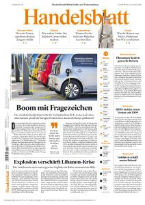 Handelsblatt - 6 August 2020