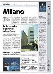 la Repubblica Milano - 19 Aprile 2018
