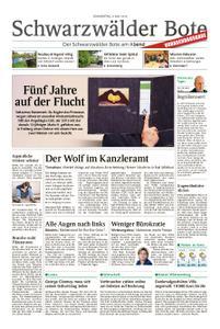 Schwarzwälder Bote Sulz - 09. Mai 2019